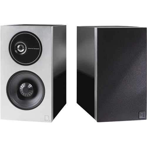 Definitive Technology Demand Series D9 2-Way Bookshelf Speakers (Piano Black, Pair)