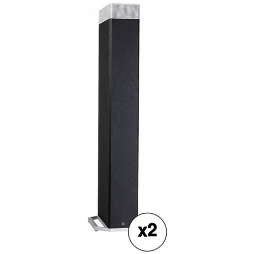 "Definitive Technology Definitive Technology BP9080x Floorstanding Speaker with Integrated 12"" Powered Woofer and Atmos Speaker Pair Kit"