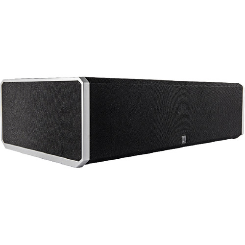 """Definitive Technology CS9080 Three-Way Center Channel Speaker with Integrated 8"""" Powered Woofer and 10"""" Bass Radiator"""
