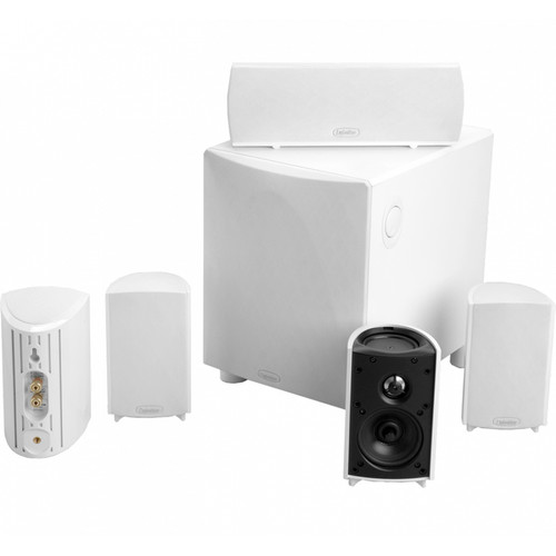 Definitive Technology ProCinema 600 5.1-Channel Home Theater Speaker System (White)