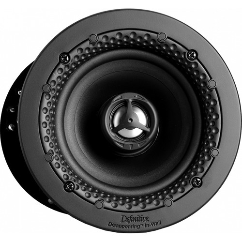 """Definitive Technology Disappearing Series DI 4.5R 4.5"""" Two-Way Round In-Ceiling/In-Wall Speaker (White, Single)"""
