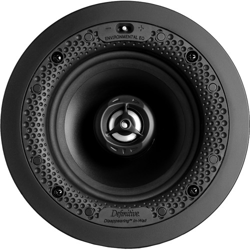 Definitive Technology Disappearing Series Round 5.5 In-Wall / In-Ceiling Speaker (White)