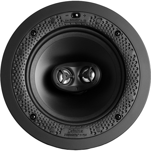 "Definitive Technology 6.5"" STR Round Stereo In-Wall/In-Ceiling (White)"