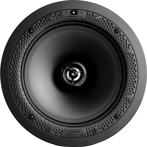 "Definitive Technology Disappearing Series DI 8R 8"" Two-Way Round In-Ceiling/In-Wall Speaker (White, Single)"