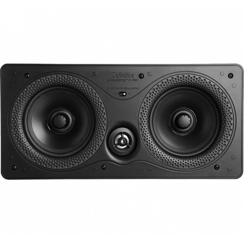 "Definitive Technology Disappearing Series DI 5.5LCR 2-Way Speaker (Single, Dual 5.25"" Drivers)"