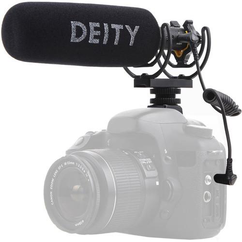 Deity Microphones V-Mic D3 Pro Camera-Mount Shotgun Microphone with Location Recording Bundle
