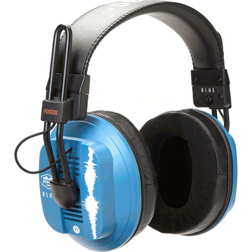 Dekoni Audio Blue - Fostex/Dekoni HiFi Audiophile Planar Magnetic Headphone
