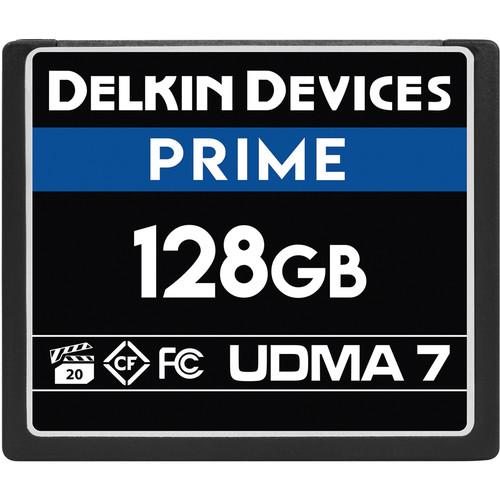 Delkin Devices 128GB PRIME UDMA 7 CompactFlash Memory Card