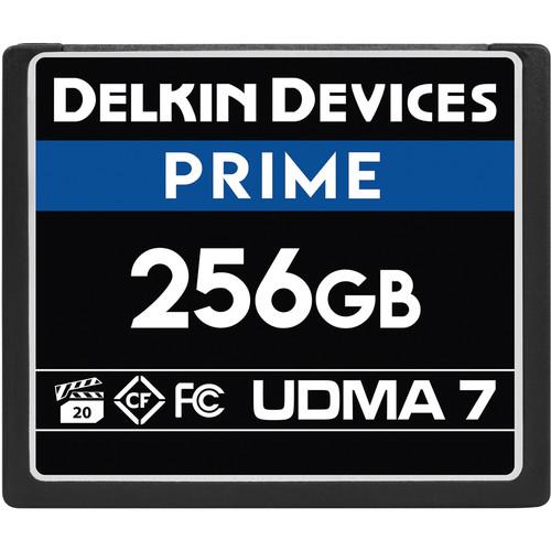 Delkin Devices 256GB Prime UDMA 7 CompactFlash Memory Card