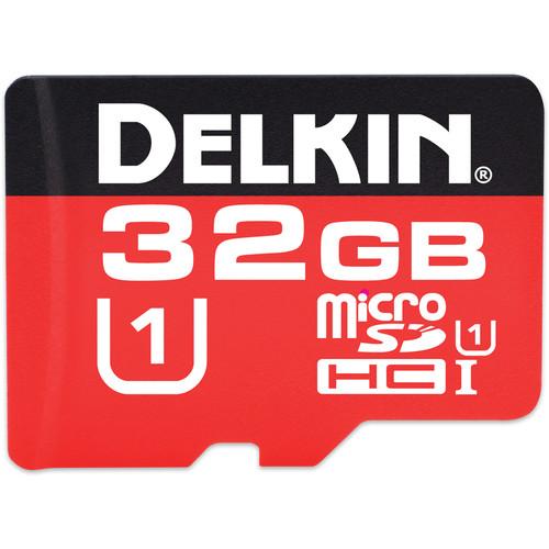 Delkin Devices 32GB 375X microSDHC Memory Card (Class 10)