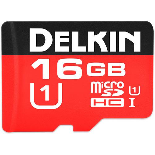 Delkin Devices 16GB 500x microSDHC UHS-I Memory Card