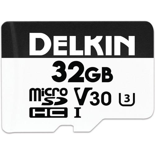 Delkin Devices 32GB Advantage UHS-I microSDHC Memory Card