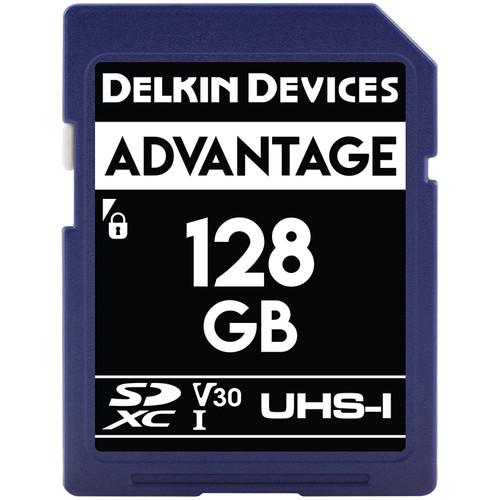 Delkin Devices 128GB Advantage UHS-I SDXC Memory Card