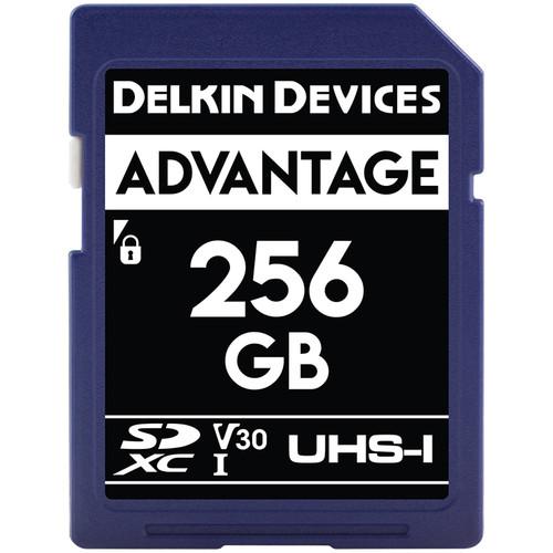 Delkin Devices 256GB Advantage UHS-I SDXC Memory Card