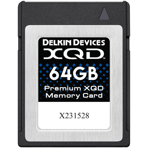 Delkin Devices 64GB Premium XQD Memory Card