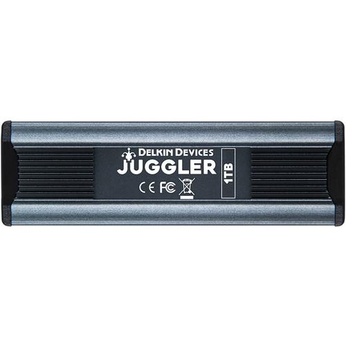 Delkin Devices 1TB Juggler USB 3.2 Gen 2 Type-C Cinema SSD
