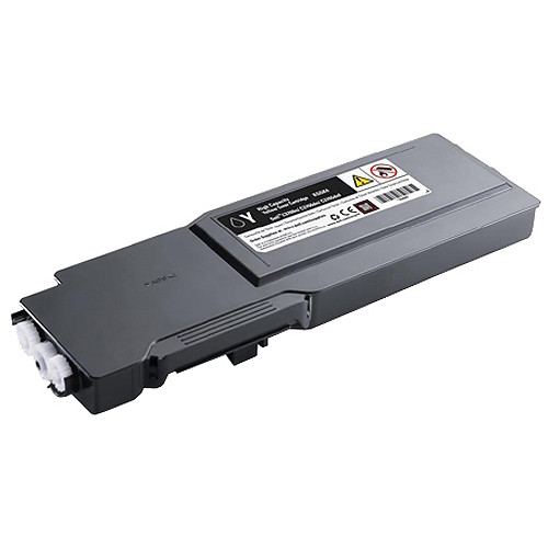 Dell Yellow Toner Cartridge for C3760n, C3760dn, and C3765dnf