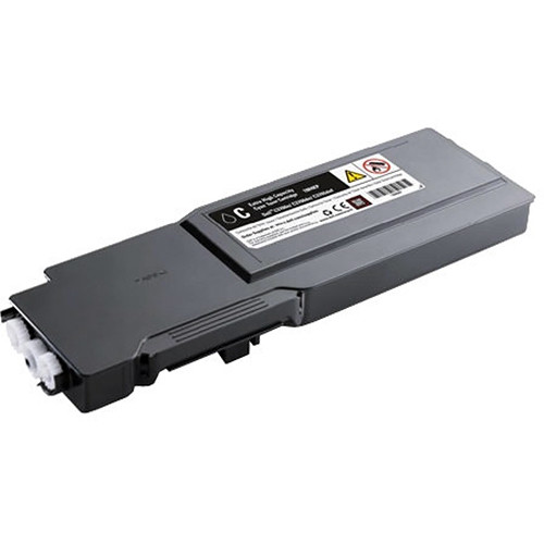 Dell Extra-High Yield Cyan Toner Cartridge for C3760n, C3760dn, and C3765dnf