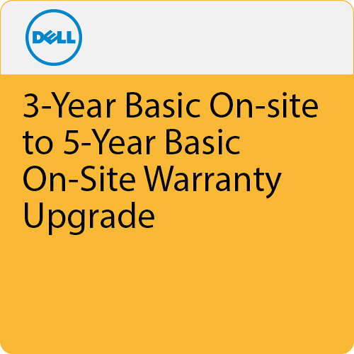 Dell 2-Year Next Business Day On-Site Extended Warranty