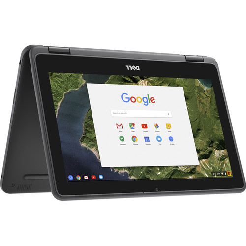 "Dell 11.6"" 16GB Multi-Touch 2-in-1 Chromebook 11 3180"
