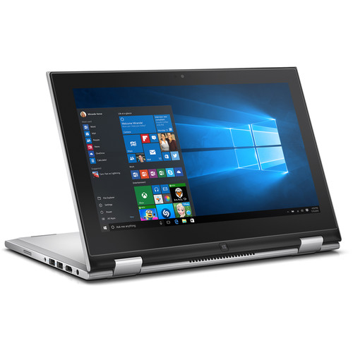 "Dell 11.6"" Inspiron 11 3000 Multi-Touch 2-in-1 Notebook (Silver)"