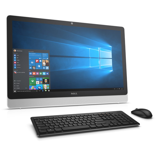 "Dell 23.8"" Inspiron 24 3000 Series Multi-Touch All-in-One Desktop Computer (White)"