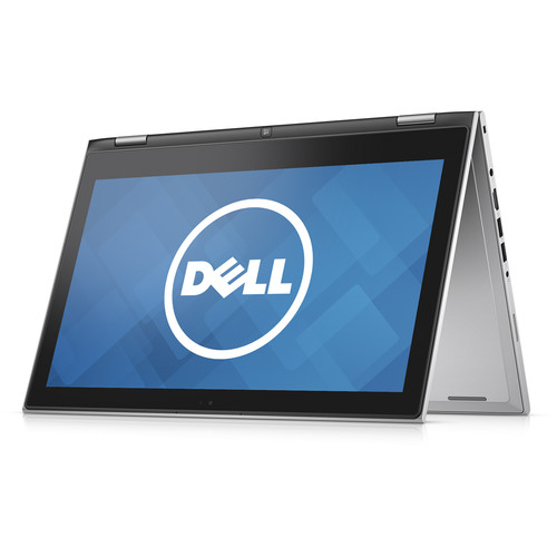 """Dell 13.3"""" Inspiron 13 7000 Series Multi-Touch 2-in-1 Notebook (Silver)"""