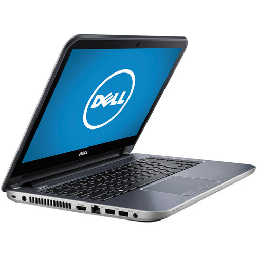 """Dell Inspiron 14R i14RMT-2503sLV 14"""" Multi-Touch Notebook Computer (Moon Silver)"""