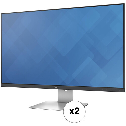 """Dell S2715H 27"""" 16:9 IPS Monitor Kit (2-Pack)"""