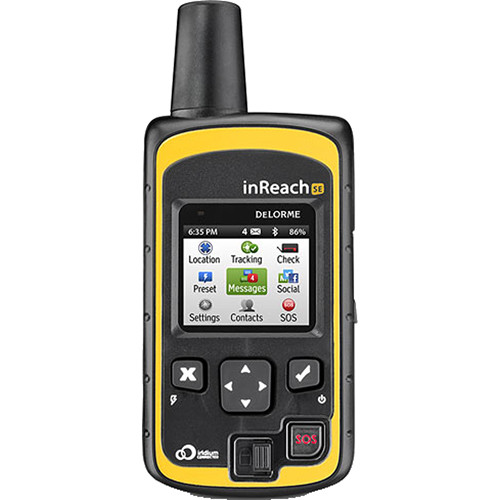 DeLorme inReach SE Global Satellite Communicator With Navigation