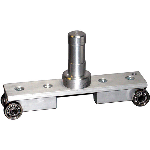 """Delta 1 Single Trolley with 1 1/2"""" x 5/8"""" Stud for Light Mover System"""