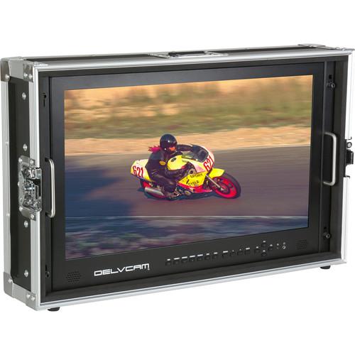 Delvcam DELV-4KSDI24 4K Ultra HD 3G-SDI Monitor