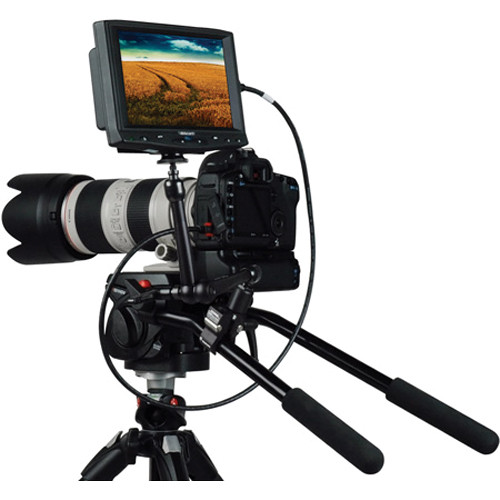 Delvcam HD7 HDMI Monitor Kit for Select Canon DSLR Cameras
