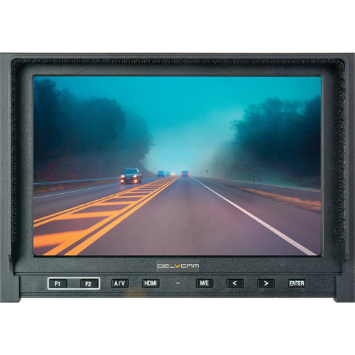 "Delvcam DELV-HDMIB 7"" Camera-Top Monitor with HDMI & AV Input"