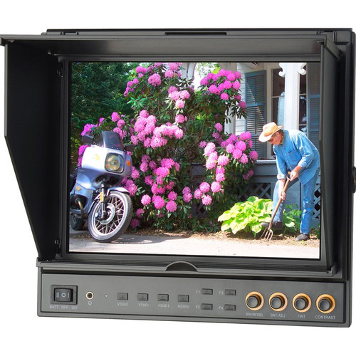 "Delvcam Delvcam 9.7"" Dual Input HDMI Monitor with Advanced Function - and Case - B-Stock (Used)"