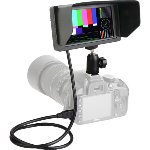 """Delvcam DELV-HSW5-CC 5.5"""" Full HD Camera-Top LCD Video Monitor"""