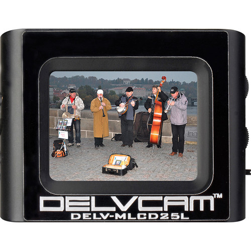 """Delvcam DELV-MLCD25L 2.5"""" Composite Video Monitor with Looping Output"""