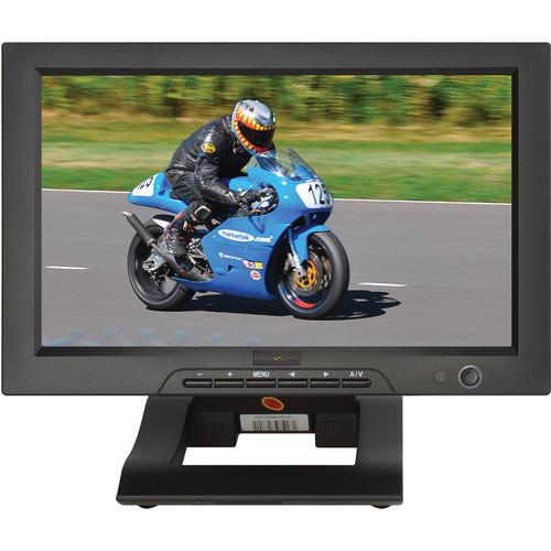 """Delvcam DELV-SDI10-16X9 10"""" 3G-SDI/HDMI Widescreen Monitor with SDI Loop Out"""