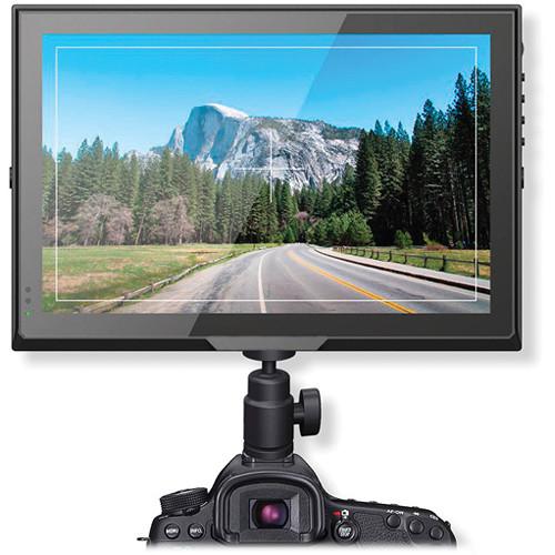 "Delvcam 10.1"" 3G-SDI On-Camera Monitor with HDMI & VGA Inputs"