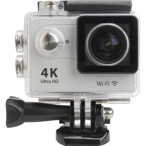 "Delvcam 4K UHD Action Sports POV Camera with 2"" Screen and Wi-Fi"