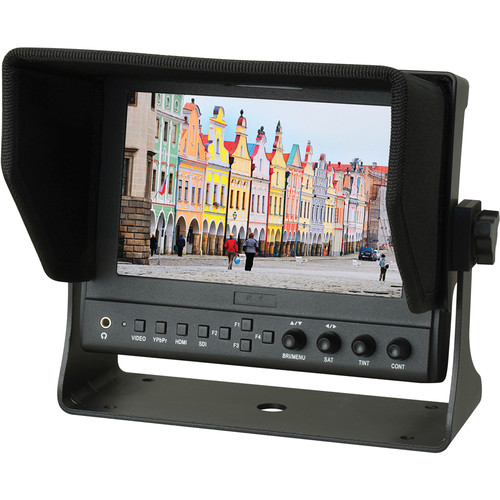 """Delvcam 7"""" On-Camera HDMI Monitor with Video Waveform"""