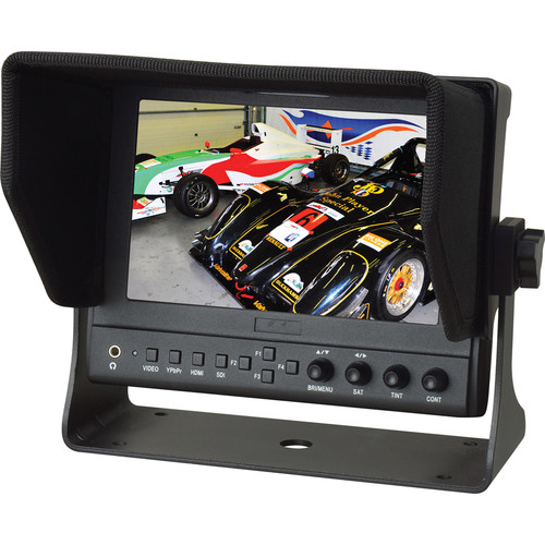 """Delvcam 7"""" On-Camera 3G-SDI and HDMI Monitor with Video Waveform"""
