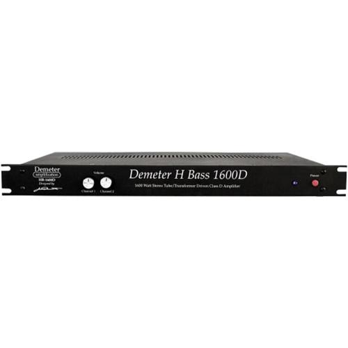 Demeter HB-1600D Class-D Stereo Tube Amplifier (1 RU)