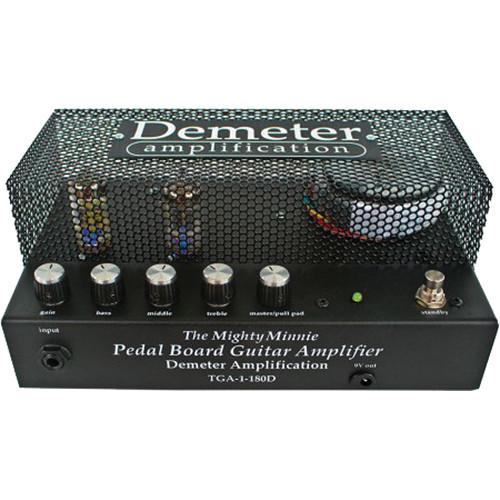 Demeter TGA-1-180D Mighty Minnie Pedal Board Guitar Amplifier