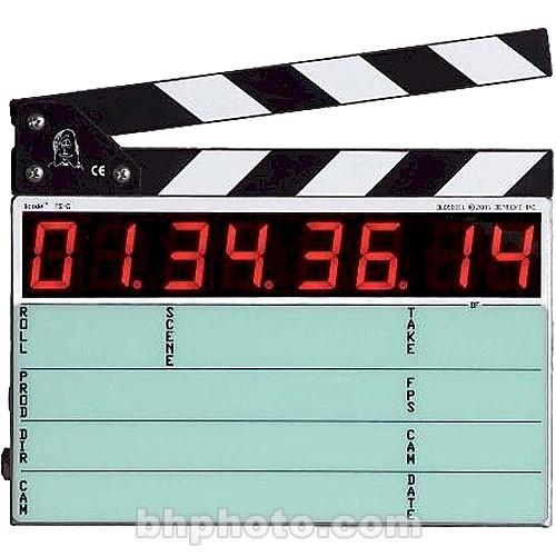 Denecke TS-C Compact Time Code Slate (Black & White) and Soft Case Kit