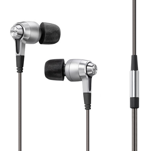 Denon AH-C720 In-Ear Headphones (Silver)
