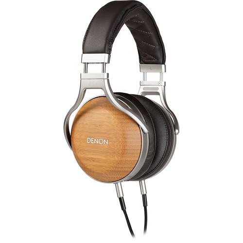 Denon AH-D9200 Bamboo Over-Ear Premium Headphones