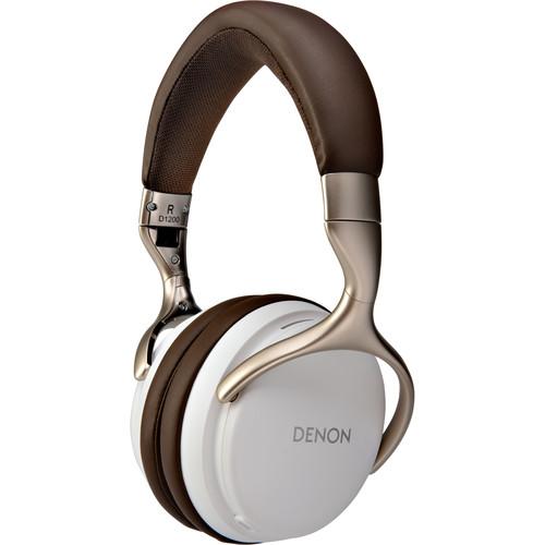 Denon AH-D1200 Over-Ear Headphones (White)