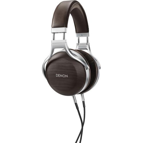 Denon AH-D5200 Zebrawood Over-Ear Headphones
