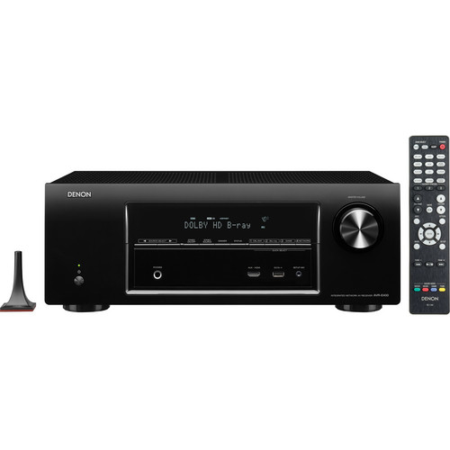 Denon AVR-E400 7.1-Channel Network Home Theater Receiver
